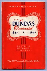 Dundas Centennial 1847-1947 Souvenir Historical Program