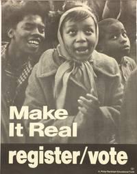 Make it real. Register / Vote [poster]