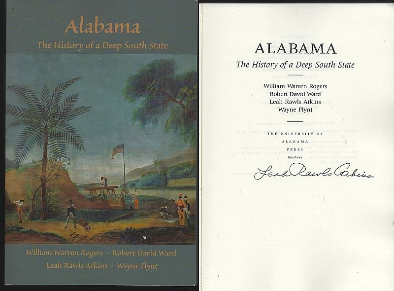 Image for ALABAMA The History of a Deep South State