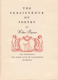 The Persistence of Poetry