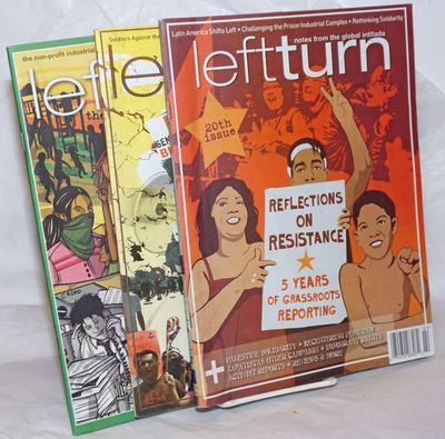Seattle: Left Turn Books, 2006. Three issues of the staplebound magazine, Oct/Nov 2005 85pp, May/Jun...