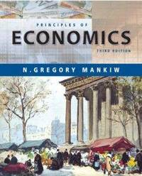 Principles of Economics by  N. Gregory Mankiw - Hardcover - 3rd - 2003-02-19 - from Monroe Street Books and Biblio.com