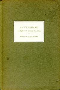 Anna Seward: an eighteenth-century Handelian