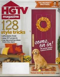 HGTV MAGAZINE NOVEMBER 2014