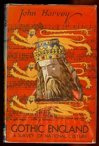 image of GOTHIC ENGLAND:  A SURVEY OF NATIONAL CULTURE, 1300-1550.