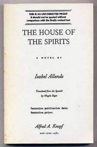 The house of the spirits by isabel allende first edition for House of spirits author