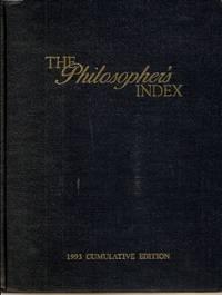 Philosopher's Index 1993 Cumulative Edition
