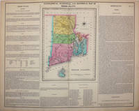 Geographical, Statistical, and Historical Map of Rhode Island by  Isaac  Henry and Lea  - 1823  - from Antipodean Books, Maps & Prints (SKU: 15974)