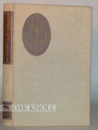 N.P.: (Fred Rosenstock, 1964. cloth, paper spine and cover labels. 8vo. cloth, paper spine and cover...