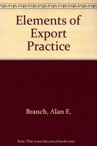 Elements of Export Practice