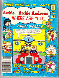 Archie... Archie Andrews Where are You No. 1