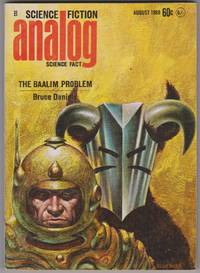 image of Analog: Science Fiction / Science Fact - August 1968