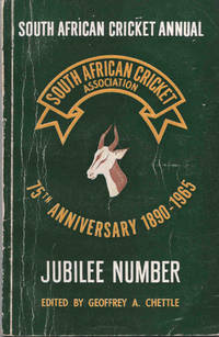 South African Cricket Annual 1965 (Volume 12) Jubilee Issue