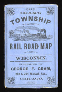 image of Cram's Township and Rail Road Map of Wisconsin