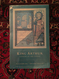 King Arthur Looking At The Legend Poster New York Public Library Oct 19,1991- Febuary 22, 1992  LARGE MOUNTED KING ARTHUR BY HOWARD PYLE THE LADY OF SHALOTT