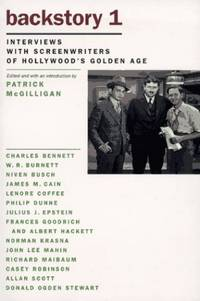 Backstory 1: Interviews with Screenwriters of Hollywood's Golden Age