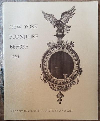 Albany, NY: Albany Institute of History & Art, 1962. Softcover. VG (slight shelf wear). Tan illustra...