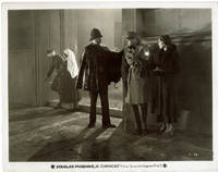 """image of A VINTAGE BLACK & WHITE PHOTOGRAPH OF DOUGLAS FAIRBANKS, JR. and ROSE HOBART in a scene from the 1931 film """"CHANCES""""."""