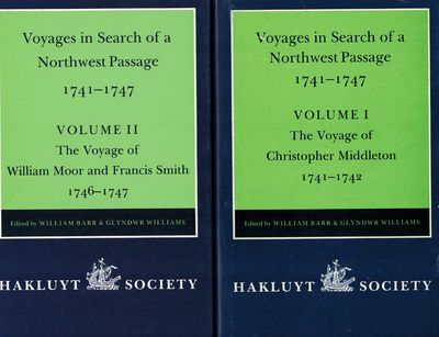 London: The Hakluyt Society, 1995. Two volumes, published 1994 and 1995, Fine in Near Fine dust jack...