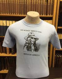 Bonnie Abbzug T-Shirt - Blue (XXL); The Monkey Wrench Gang T-Shirt Series