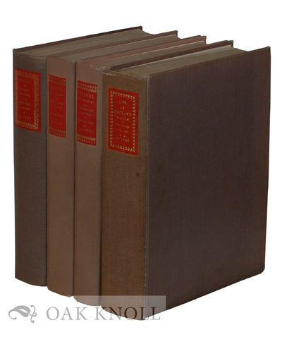 London: Privately printed at the Curwen Press, 1957. polished cloth, top edges gilt, leather spine l...
