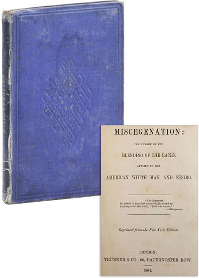 London: Trübner & Co, 1864. First U.K. Edition. Hardcover. Anonymously-written pamphlet, originally...