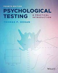 Psychological Testing: A Practical Introduction  Fourth Edition