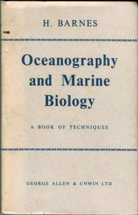 image of Oceanography And Marine Biology: A Book Of Techniques