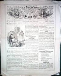 image of A Vintage Issue of the Youth's Penny Gazette for August 27th 1856
