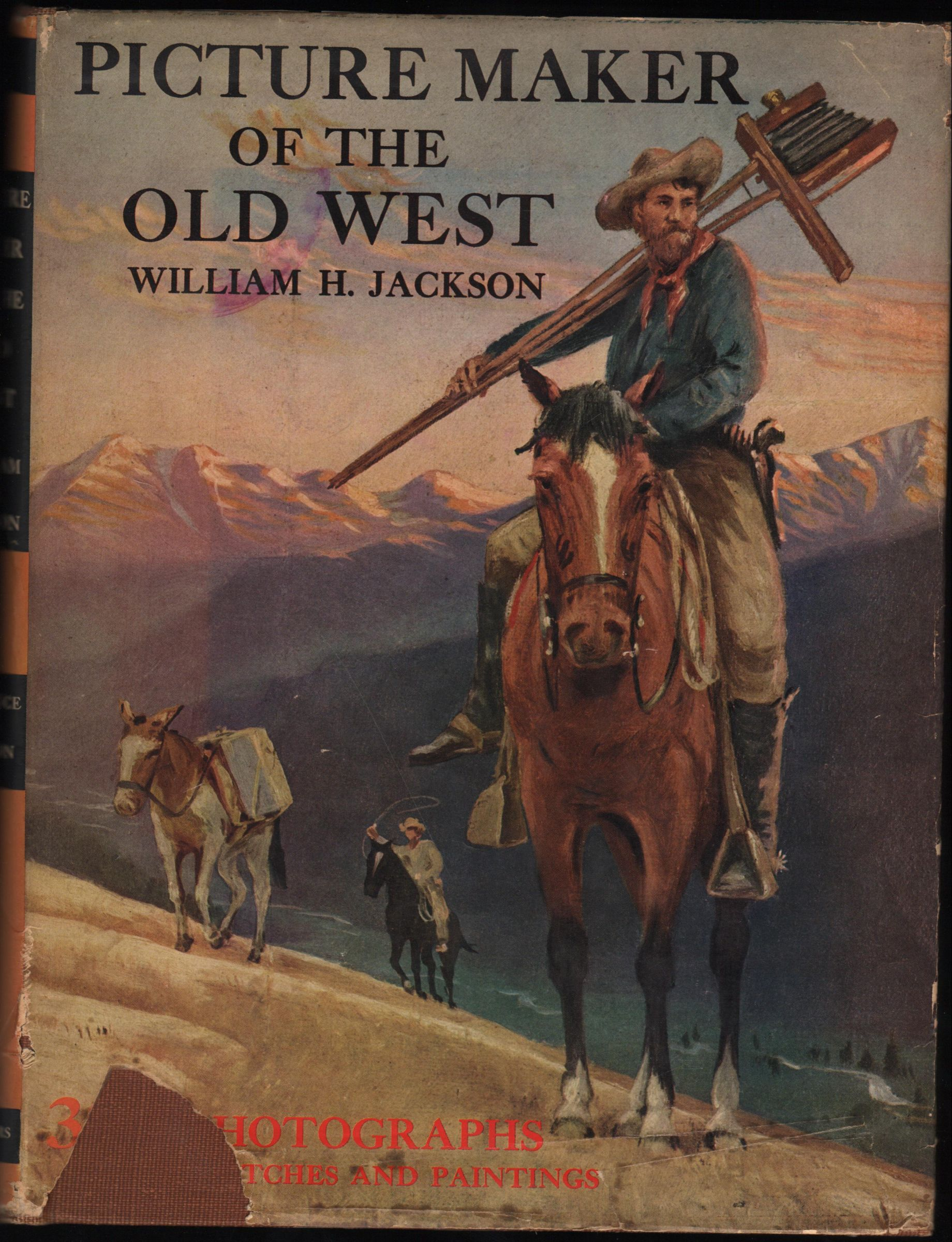 Picture maker of the old west william henry jackson by for Maker jackson