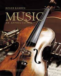 Music: An Appreciation by Roger Kamien - Hardcover - 1999-05-06 - from Books Express (SKU: 0072902000n)