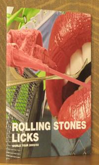 ROLLING STONES LICKS - WORLD TOUR 2002/03 - CONCERT PROGRAM