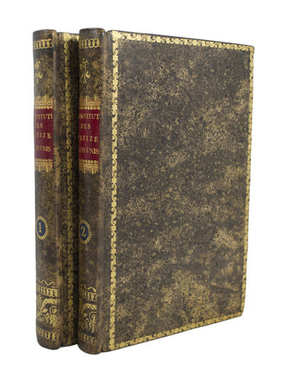 The First French Edition of the United States Constitution . . Constitutions des Treize Etats-Unis d...