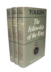 image of The Lord of the Rings [Second Edition Second Impression Near Fine set]. Comprising The Fellowship of the Ring, The Two Towers & The Return of the King