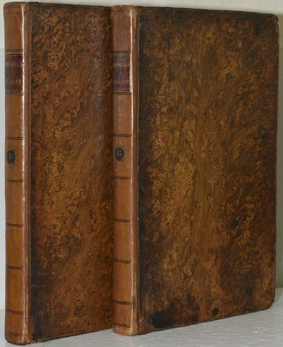 London: J. Dodsley, 1780. The First Edition set in two folio volumes; folio volumes; with engraved p...