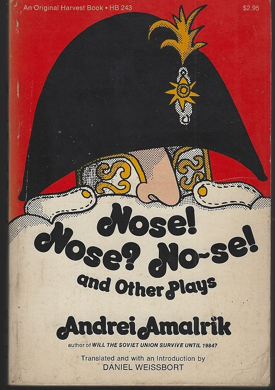 Image for NOSE! NOSE? NO-SE AND OTHER PLAYS