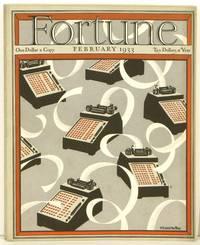 Fortune Magazine.  1933 - 02