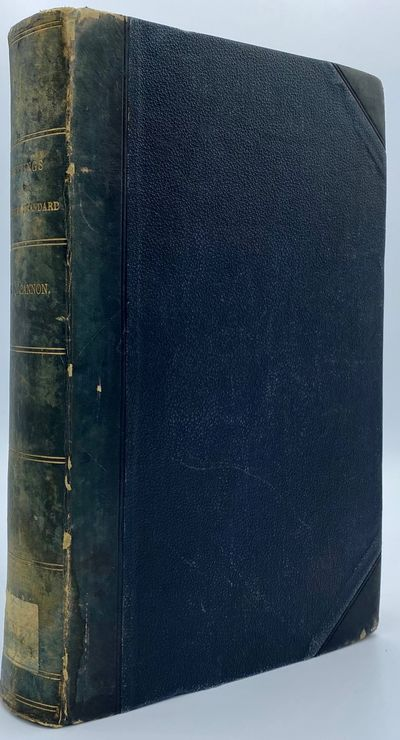 Liverpool: Published by George Q. Cannon, 1864. 512pp. Octavo 3/4 blue sheep over matching boards wi...
