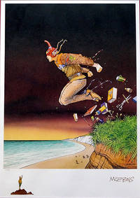 The Leap #1/250 - Limited Edition Print by Moebius (Jean Giraud) - 1998 - from Print Matters (SKU: MoebiusLeap1)