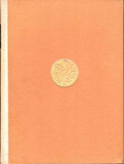 Berlin: Bruno Cassirer, 1922. Hardcover. Very good. 166pp. Very goood hardback in cloth backed board...