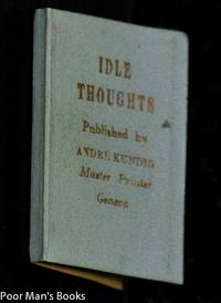 IDLE THOUGHTS [MINIATURE BOOKS]