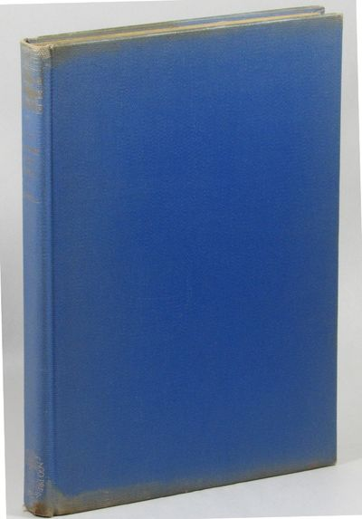 Chicago: University of Chicago Press, 1940. Hardcover. Very good. 164pp+ indices and plates. Edges o...