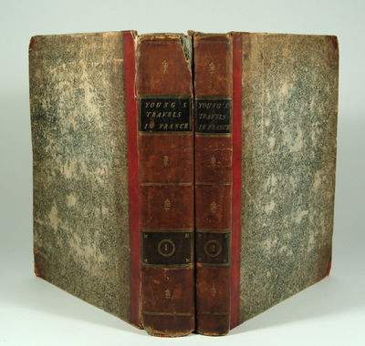 1792. YOUNG, Arthur. TRAVELS DURING THE YEARS 1787, 1788, AND 1789. Undertaken more particularly wit...