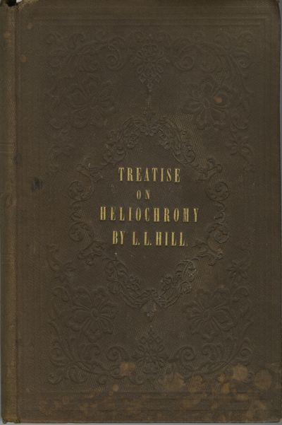 NY: Robinson & Caswell, 1856. First edition. 8vo., xii, 175 pp. Publisher's decoratively blind-stamp...