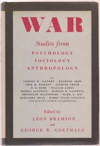 War: Studies from Psychology, Sociology and Anthropology