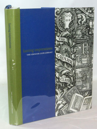 New York: The Grolier Club, 2004. First Edition. Winterhouse Edition Fine in 1/2 green and blue clot...