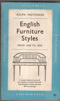 English Furniture Styles  1500 1830