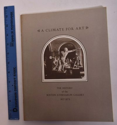Boston, MA: Boston Athenaeum, 1980. Softcover. VG (only minor shelf wear, all pages clear and intact...