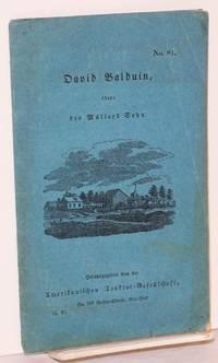 image of David Balduin, oder: des müllers sohn