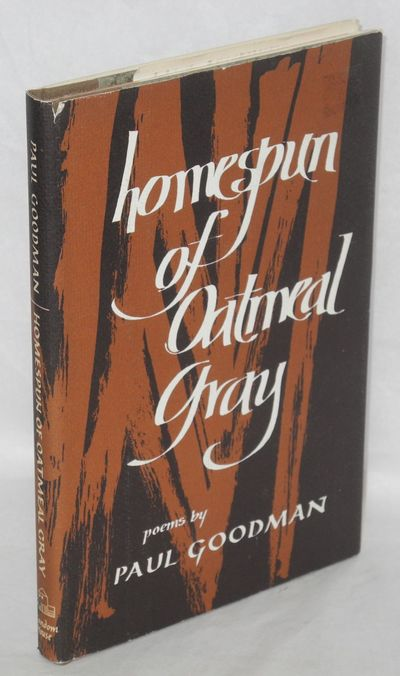 New York: Random House, 1970. Hardcover. 120p., first edition brown cloth spine over grey boards, ve...